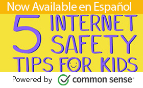 Online safety: 5 safety tips for kids