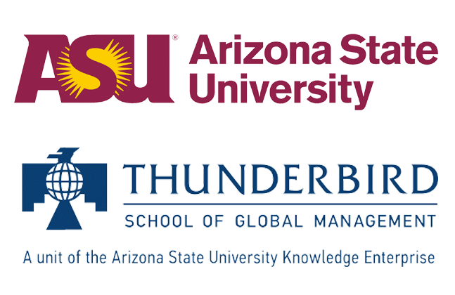 Arizona State University Thunderbird School of Global Management logo