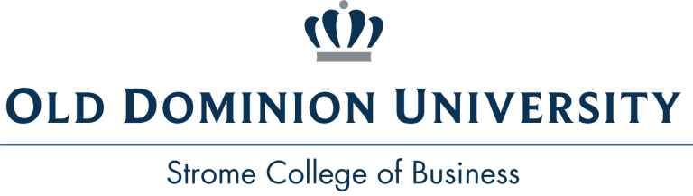 Old Dominion University Strome College of Business logo