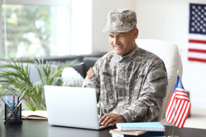 Military operations over internet