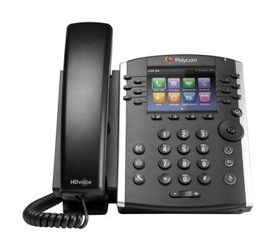 Polycom VVX 411 phone