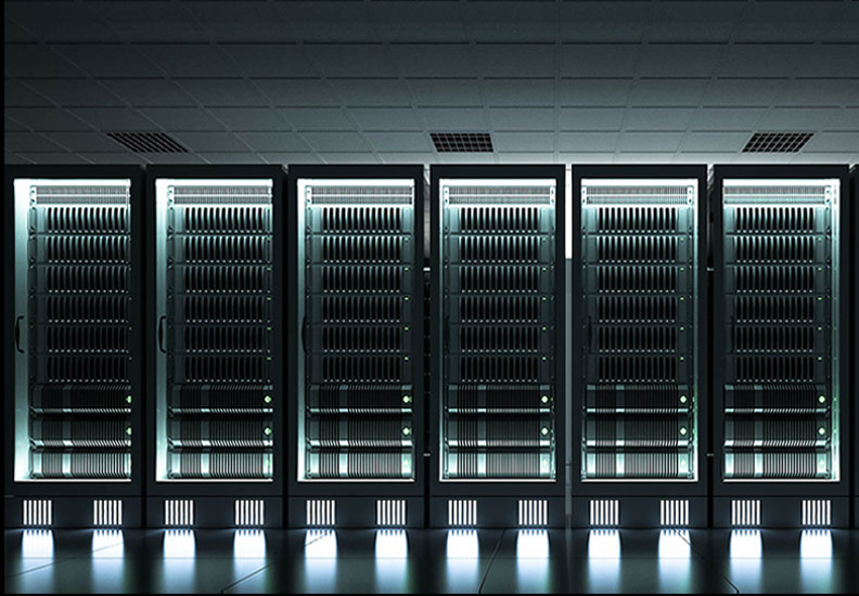 Cloud Services server room