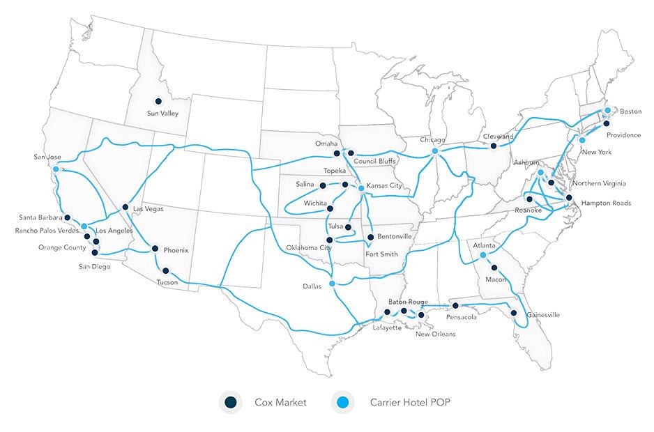 CB Data center map