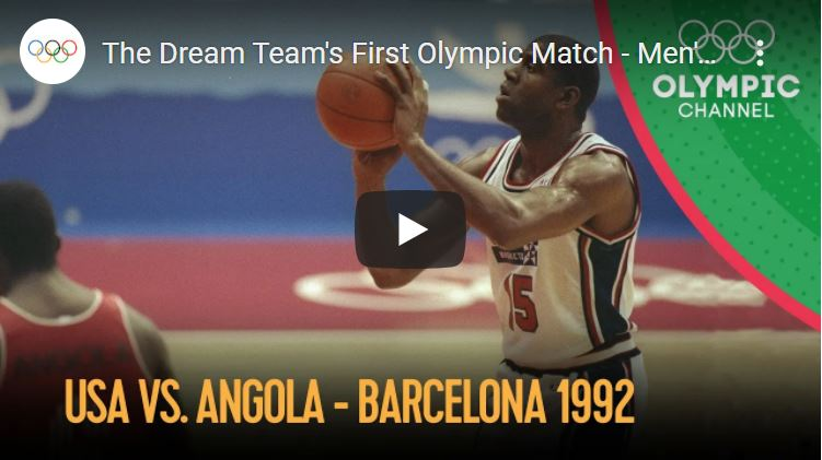 Click to watch the Dream Team in Barcelona
