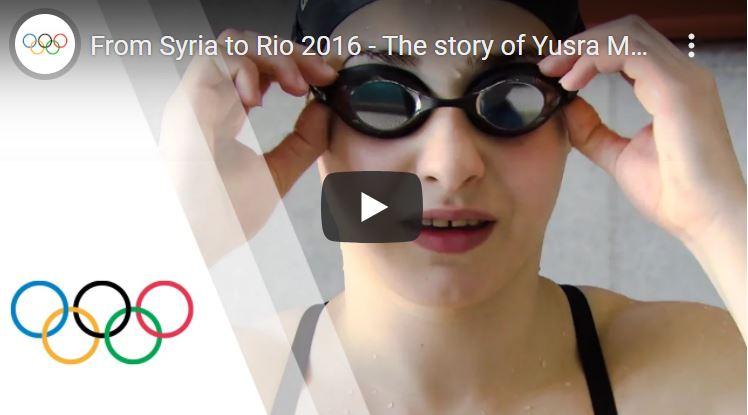 Click to watch Yusra Mardini in Rio