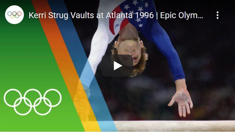 Click to watch Kerri Strug in Atlanta