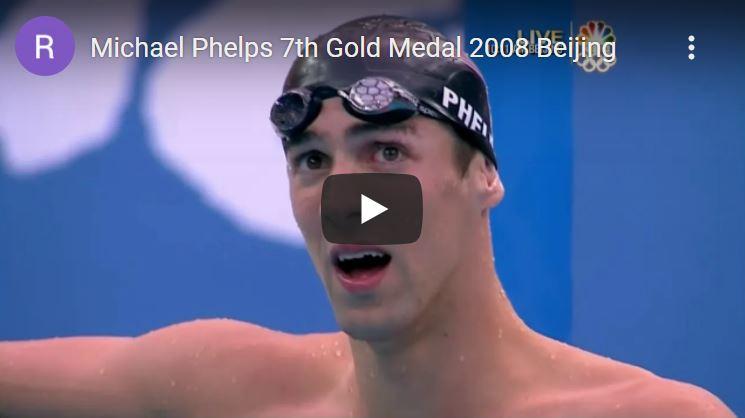Click to watch Michael Phelps in Beijing