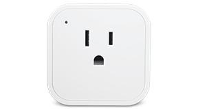Image: White Electric Smart Plug