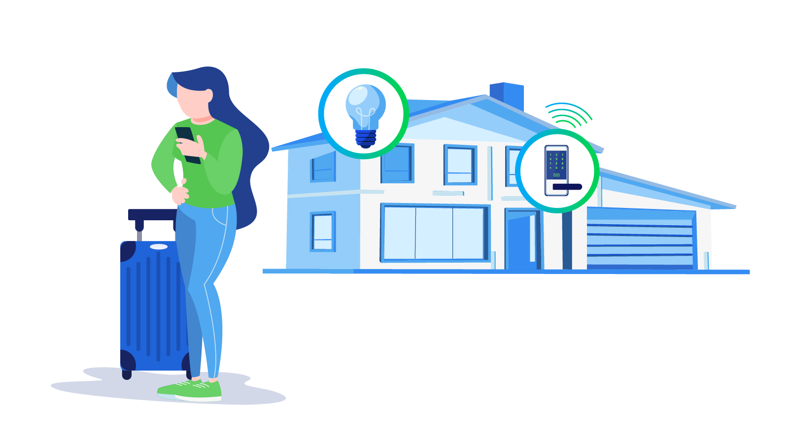 Control Your Smart Home Features from Anywhere