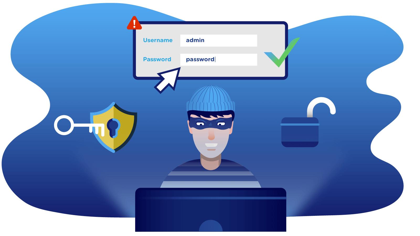 Change Default Password