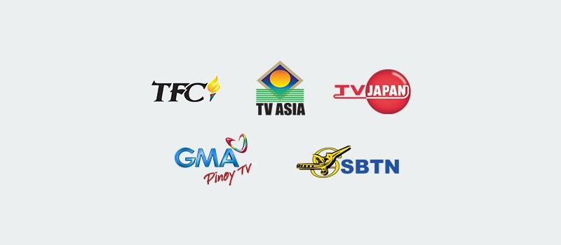 Logotipos de canales internacionales