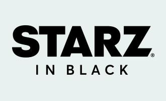 Starz in black channel logo