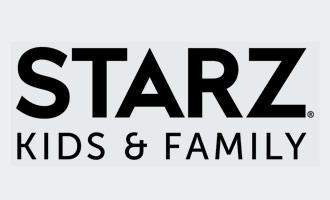 Starz kids & family channel logo