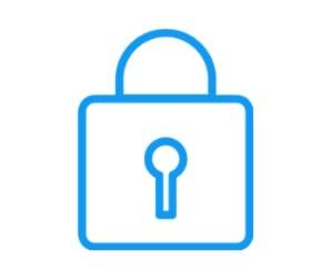 Key lock icon