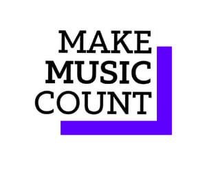 Make music count logo