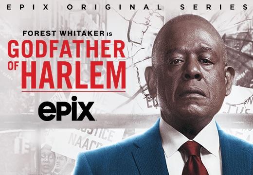 Canales premium de Epix que ofrecen Godfather of Harlem