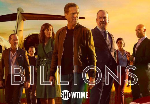 Canales premium de Showtime que ofrecen Billions