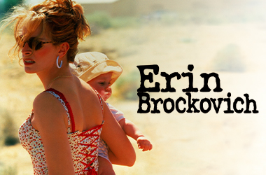 Showtime top movie Erin Brockovich
