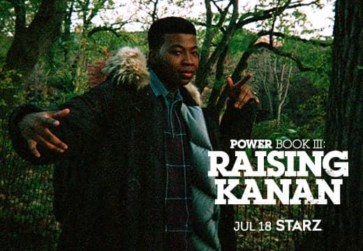 Mira Power Book III: Raising Kanan en STARZ