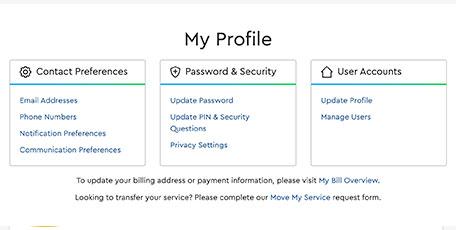 Administra cuentas de emaila través de Mi perfil