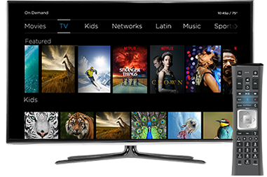 Image: Cox Contour TV On Demand with Netflix Titles Included