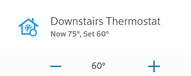 Homelife showing how to adjust thermostat